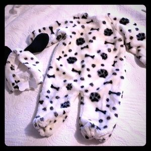 2-piece Toddler Dalmatian costume
